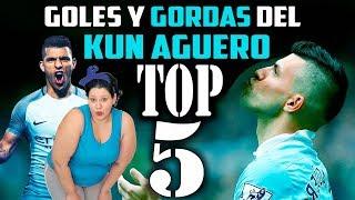 TOP 5 | MEJORES GOLES Y GORDAS DEL KUN AGUERO