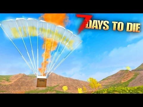 7 Days To Die - HUNTING THE BEST AIRDROPS!! (7 Days To Die Gameplay)