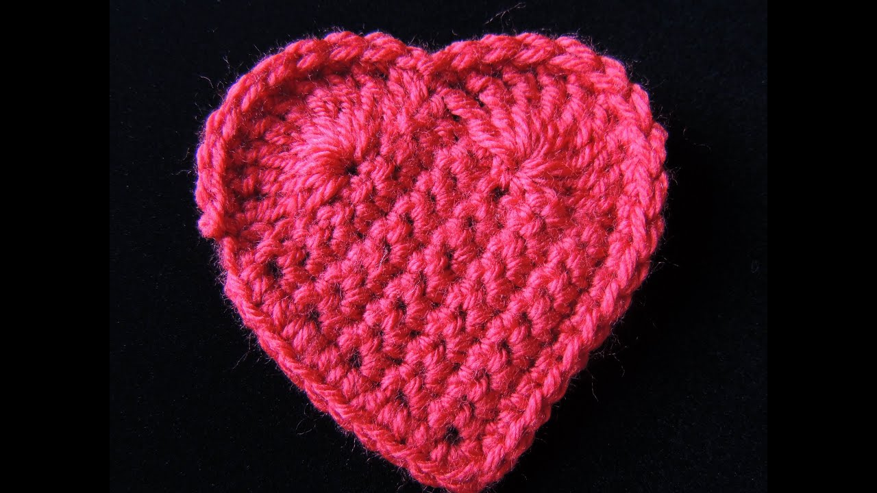 Corazon en Crochet. - YouTube