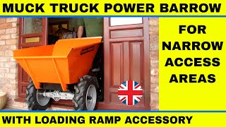 Muck Truck For Sale Mini Dumper Power Wheel Barrow-video