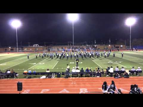 Pinole Valley High School Marching Band's Class of 2015 Senior Night