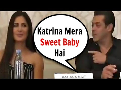 Salman Khan Called Katrina Kaif BABY'