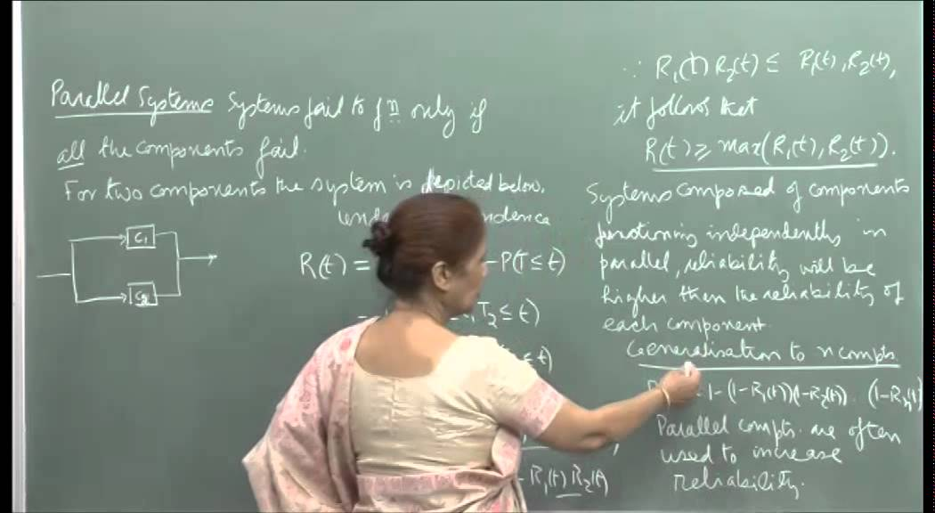 Mod-01 Lec-40 Reliability of systems