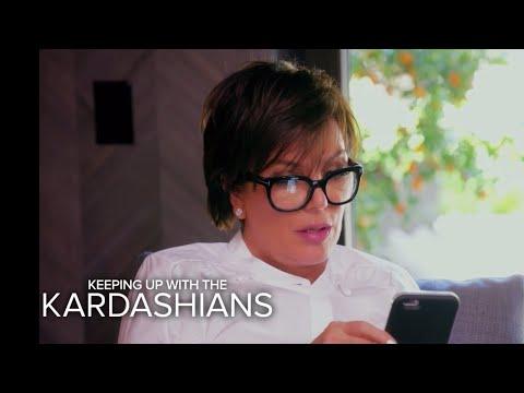 KUWTK | Kris Jenner and Khloe Talk Rob Kardashian's Engagement  | E!