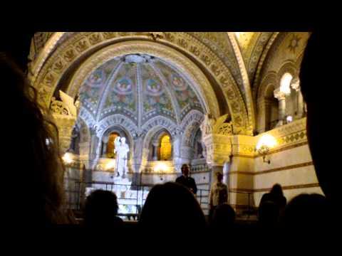 Pro Musica Hungarica Choeur de l'Université Lóránd Eötvös de Budapest - Lyon Fourvière 4/13