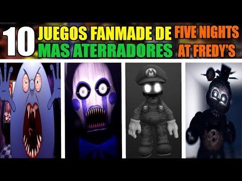 Los 10 JUEGOS FANMADE MAS ATERRADORES DE FIVE NIGHTS AT FREDDY'S EN EL INTERNET thumbnail