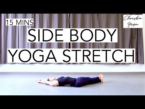 Side Body Yoga Stretch | 15 Min Yoga Stretches for Obliques and IT Band | ChriskaYoga