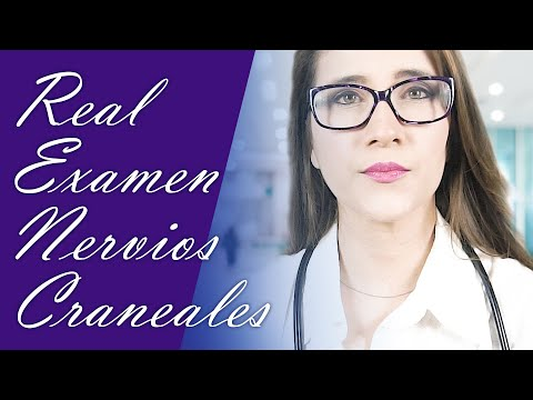 Un doctor? Examen de nervios craneales. Roleplay médico.  Asmr español | Asmr with Sasha