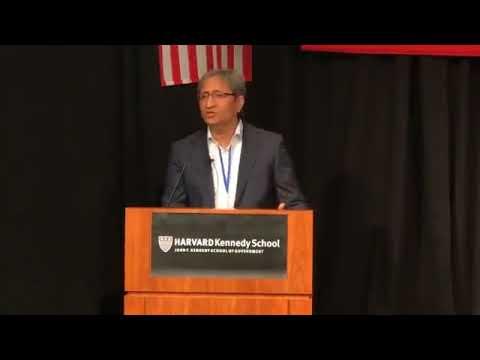 Ravish Kumar at Harvard University