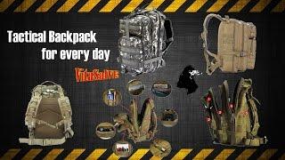 тактический рюкзак с aliexpress - подделка и ФУФЛО, которое не нужно покупать!