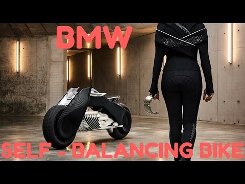 BMW Self-Balancing Bike & C-1 by Lit Motors