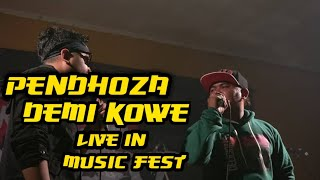 Pendhoza demi kowe live music fest