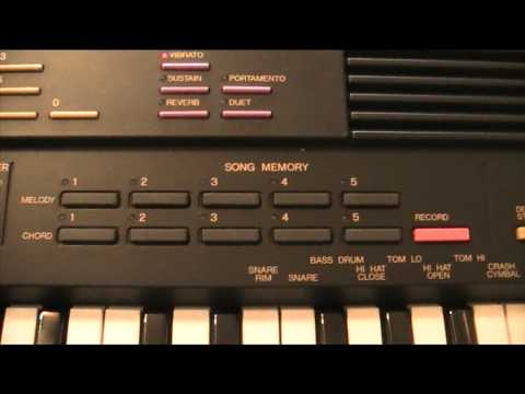 yamaha pss - 580 musicstation review part one