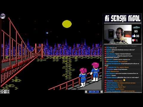Ai Senshi Nicol прохождение (J) | Игра на (Dendy, Nes, Famicom, 8 bit, FDS) Konami 1987 Стрим RUS