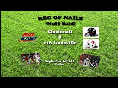 2012 Cincinnati @ Louisville One Hour