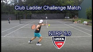 NTRP 5.0 - Andrew vs Chris - Club Challenge Match Highlights