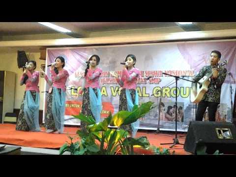 VG SMPN 2 Bandung juara-2 tk nasional FLS2N 2014