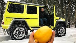 ДЕДУШКА И ГЕЛИК ЗА 20 МИЛЛИОНОВ! Тест драйв монструозного Mercedes Benz G 500 4x4²! Клиренс 450 мм