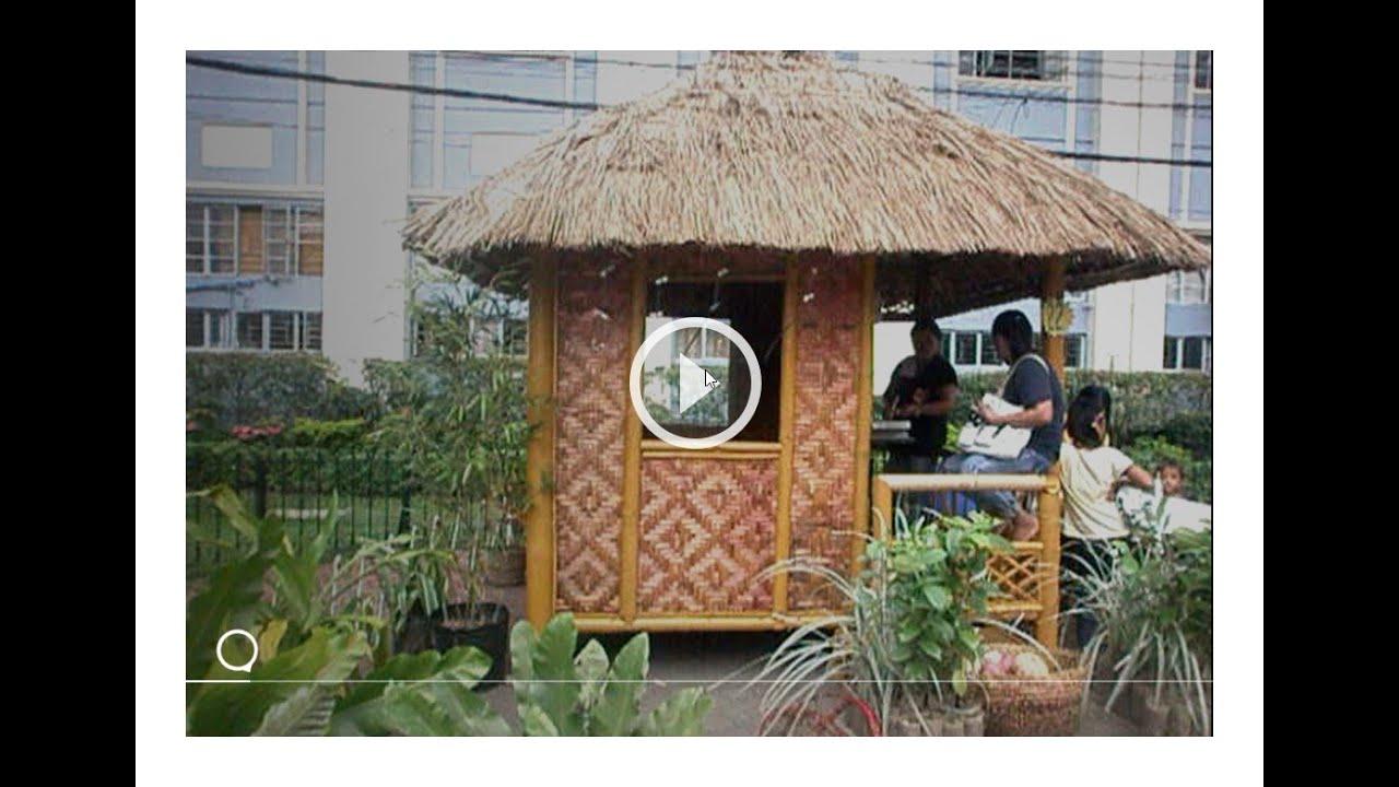Amazing Bahay Kubo Styles With Garden Youtube