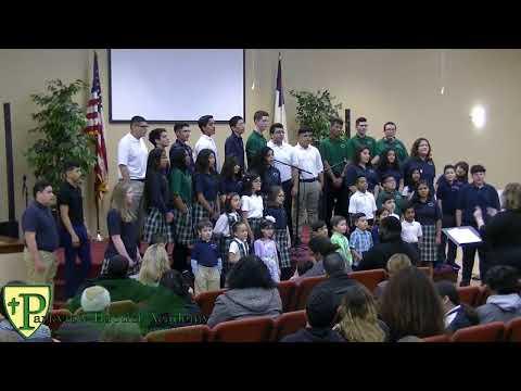 Parkview Baptist Academy 2018 Spring Program