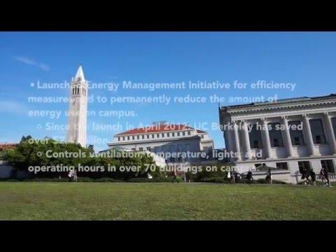 UC BERKELEY'S INITIATIVES TO GO GREEN