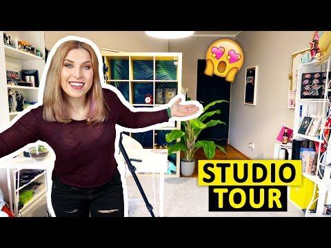 Moje nowe studio! 😍 STUDIO TOUR 🎬 Agnieszka Grzelak Vlog