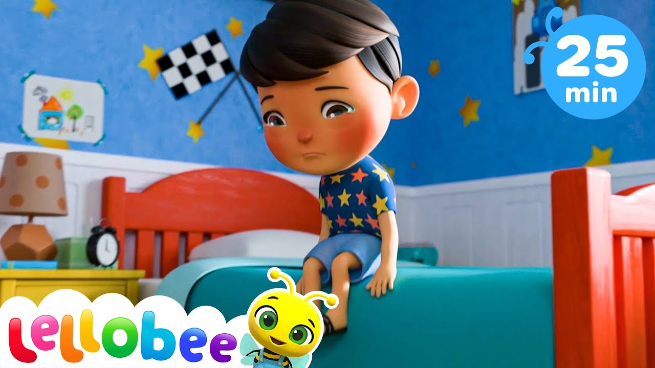 Sick Song + More Nursery Rhymes & Kids Songs - ABCs and 123s | Little Baby Bum