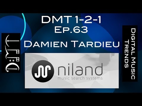 Ep.63: Damien Tardieu from Niland, a music search and recommendation startup (DMT 1-2-1)