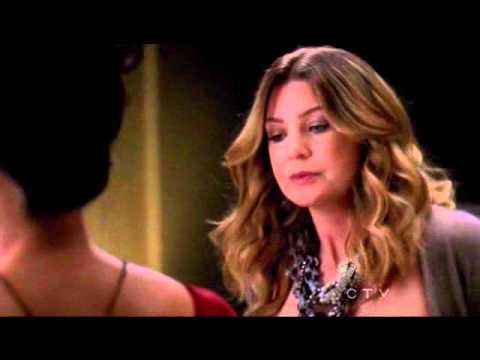Greys Anatomy S07e01 Meredith Cristina 4 Youtube