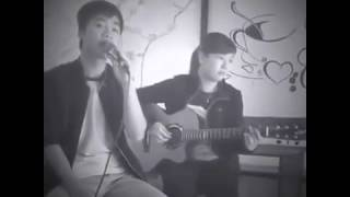 Suy nghĩ trong anh ( Guitar cover acoustic Cafe Nami) - Hồng Oanh vs Quang Huy