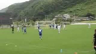 石巻市で行なわれた岩手県選抜VSNECトーキンの試合です。