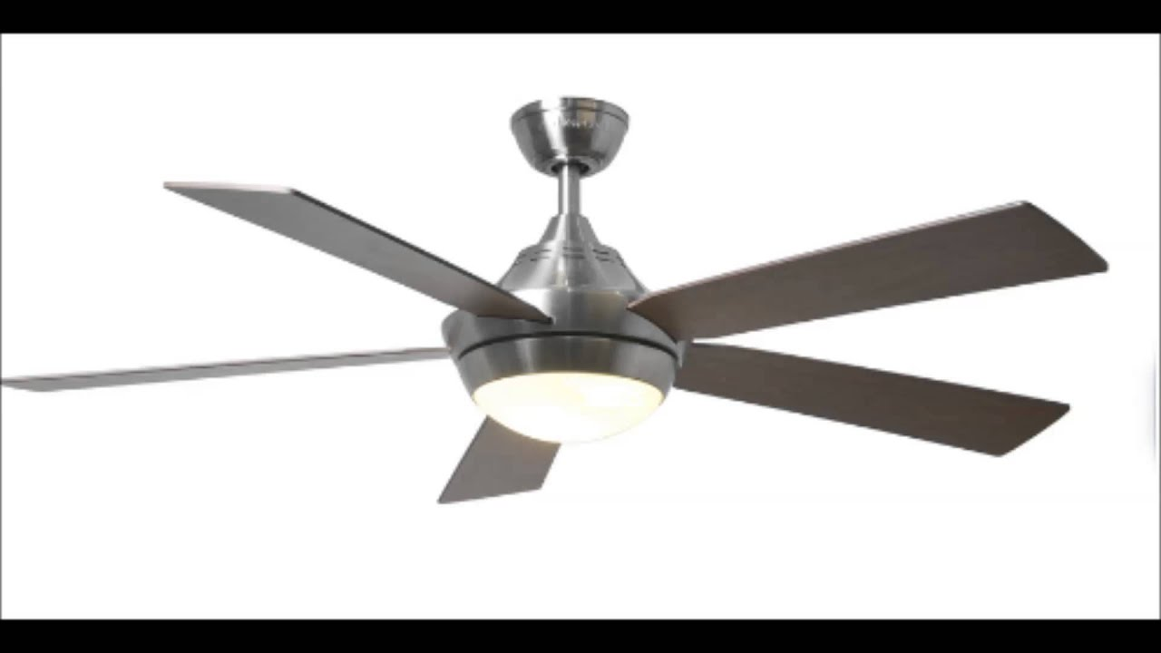 harbor breeze platinum portes ceiling fans - youtube
