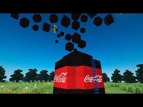 видео: 10 000 ЛИТРОВ КОКА-КОЛЫ + МЕНТОС В МАЙНКРАФТЕ! БЕЗ МОДОВ! / 10 000 liters of Coca-Cola in MINECRAFT