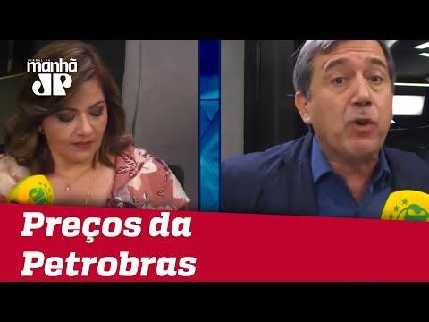 Marco Antonio Villa e Denise Campos de Toledo discutem política de preços da Petrobras