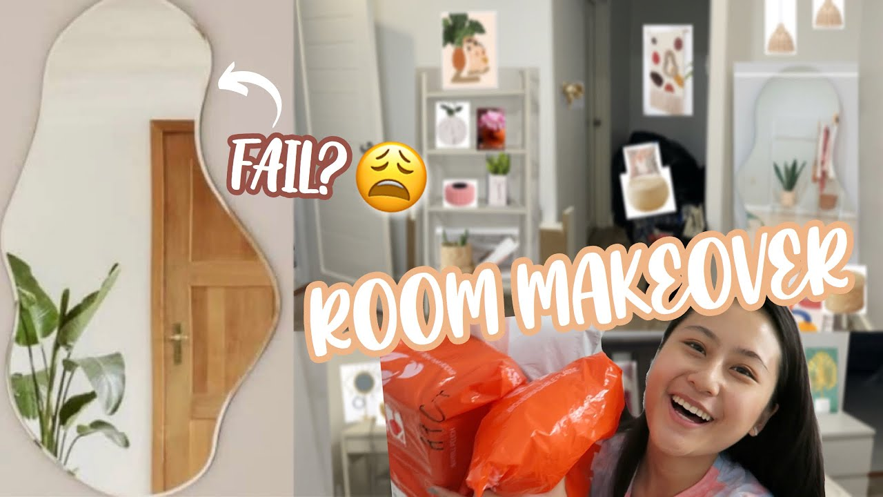 ROOM MAKEOVER ✨ + FAIL NEW MIRROR?? | Lexy Rodriguez