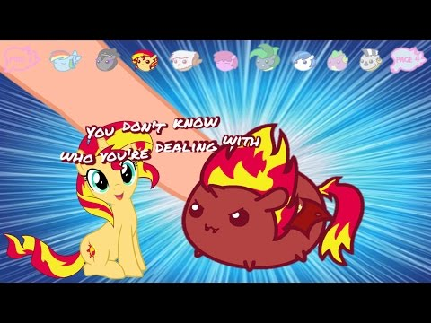 My Little Pony Game - No Touching! Tsum Tsum like MLP  | Evies Toy House