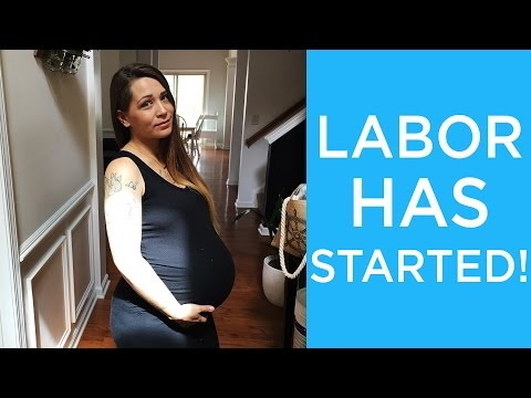 how to go in labor 37 weeks