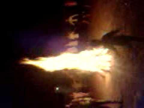 đốt lửa trại thu 2012 thôn Liên Minh-Xích Thổ-Nho Quan-NB