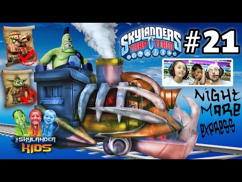 Lets Play Skylanders Trap Team: NIGHTMARE EXPRESS! Chapter 2