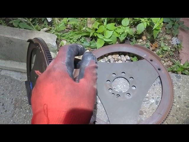 Mercedes S600 broken ring gear/flywheel teeth