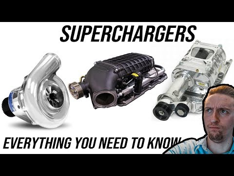 Superchargers: Everything You Need to Know   How They Work