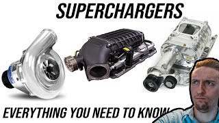 Superchargers: Everything You Need to Know | How They Work