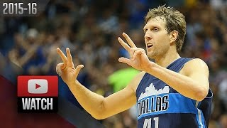 Dirk Nowitzki Full Highlights vs Clippers (2015.11.11) - 31 Pts, 11 Reb, VINTAGE!