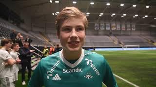 RBK G16 Sander Tangvik etter cupfinalen mot Stabæk 30.11.2018