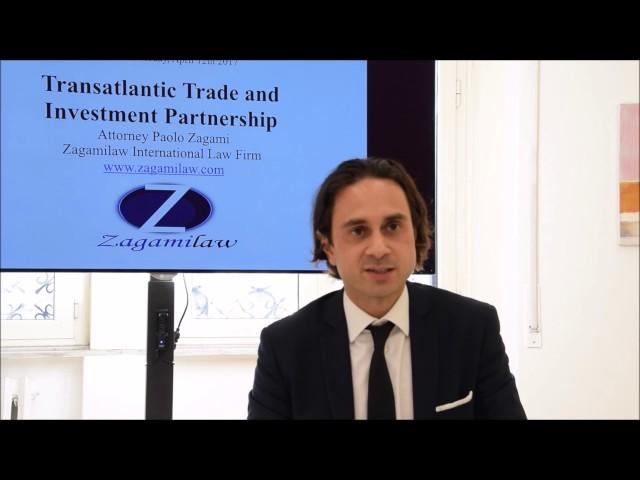 Speech on TTIP in Temple University - Zagamilaw