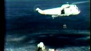 Apollo 17 Part 9 Splashdown