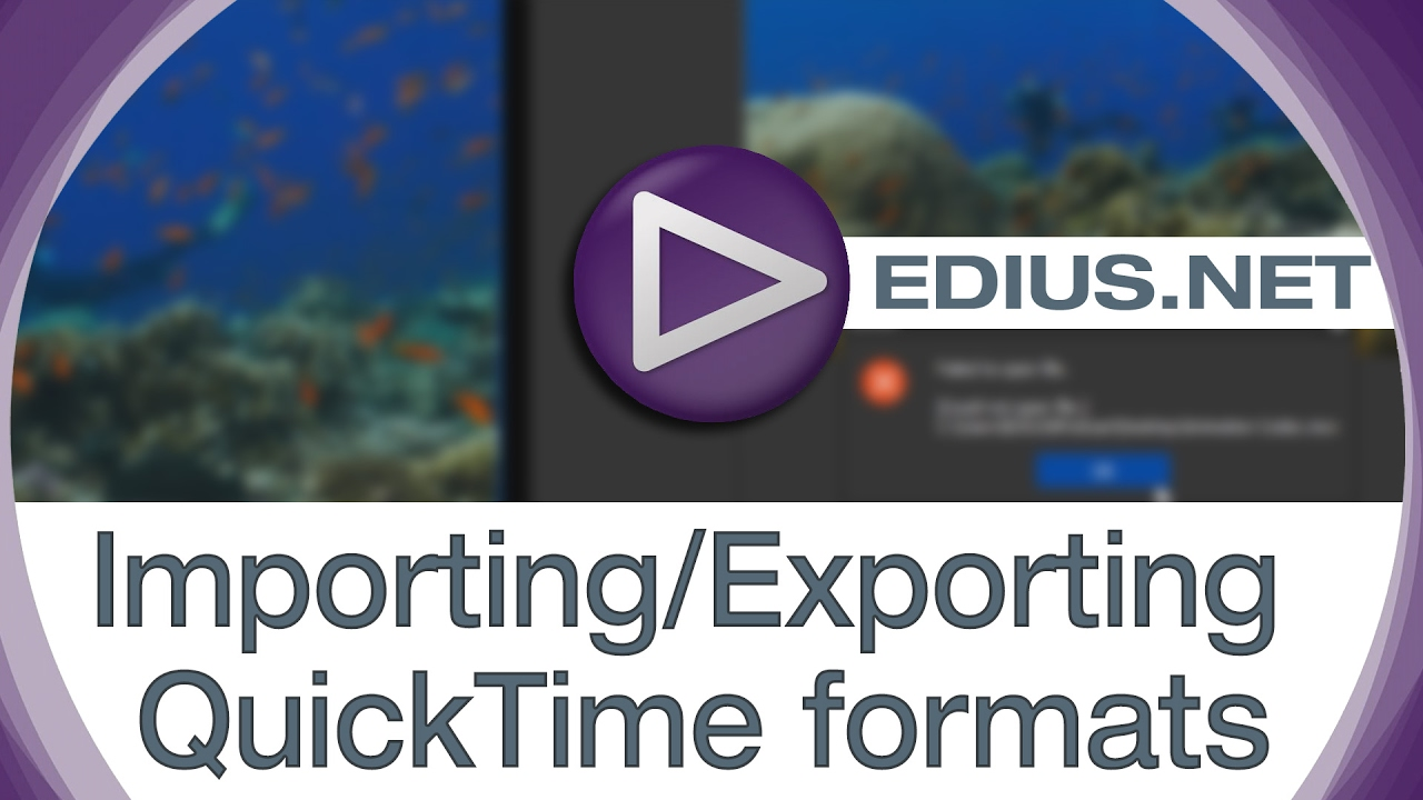 Quicktime Installer - EDIUS