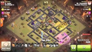 Th9 anti-3 star base#1- queen walk shattered goho 3 spells