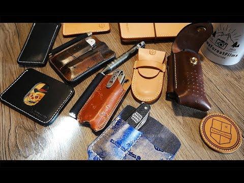 Tools for Gents: Neue EDC Gear Lederwaren und Prototypen (handmade) TFG EDC WLT