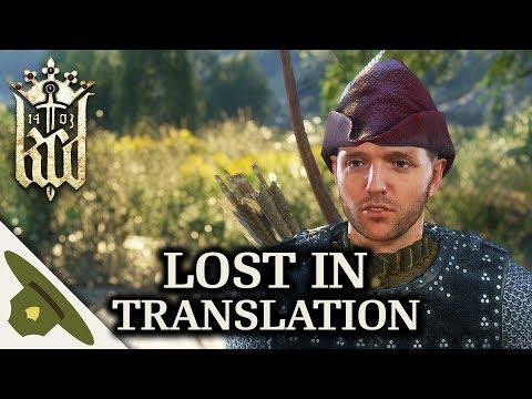 Kingdom Come: Deliverance Side Quest: Lost in Translation